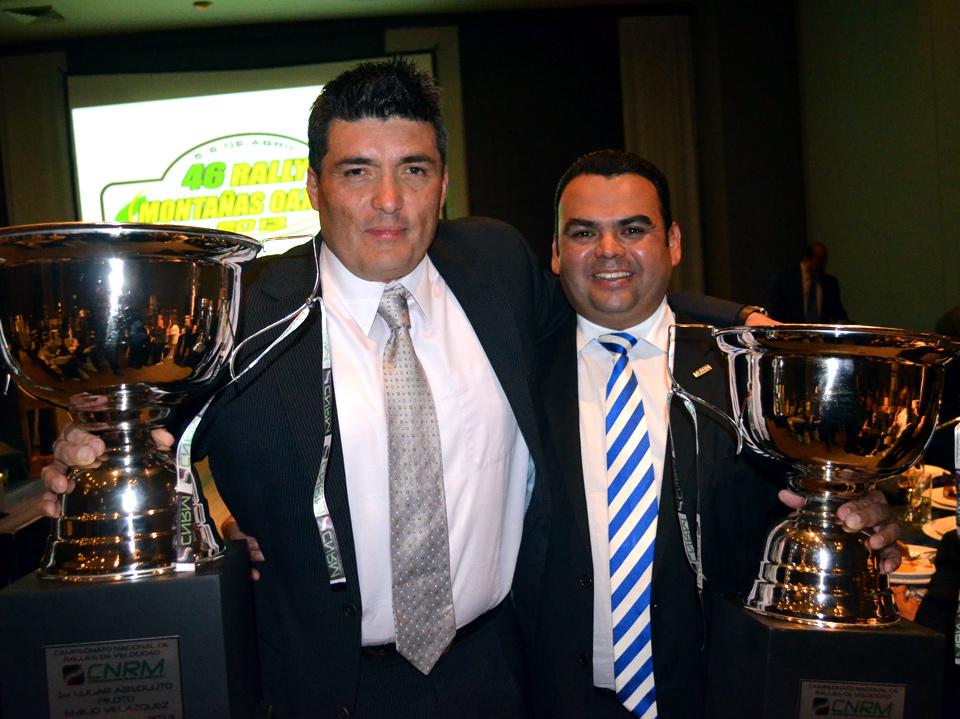Emilio Velázquez y Javier Marín, campeones de la Copa México 2013.