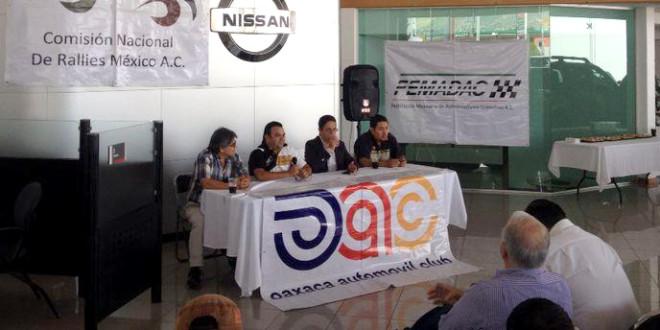 Presentaron el Rally Sierra Juárez 2014
