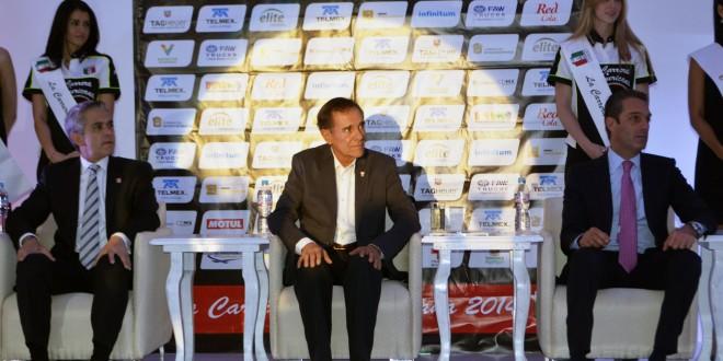 Presentaron la Carrera Panamericana 2014