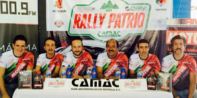 El Rally Patrio será espectacular