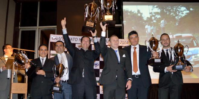 Campeones fueron premiados