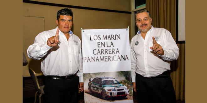 Los Marín quieren triunfar en la Panamericana