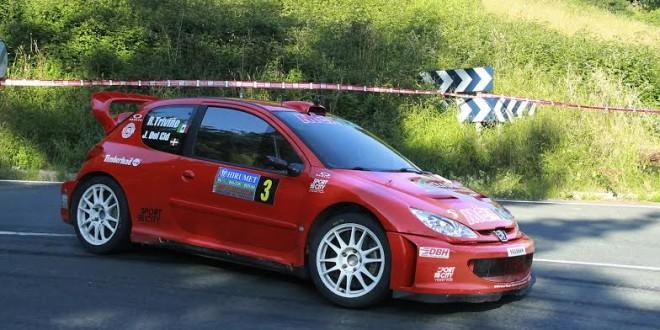 Triviño triunfó en el Rally Balcón de Vizcaya