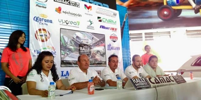 Invitan al Rally Expo Feria Michoacán