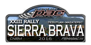 Rally Sierra Brava 2016