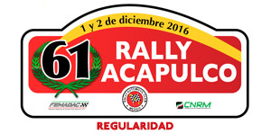 Rally Acapulco Regularidad 2016
